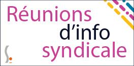 Réunions d'information syndicale
